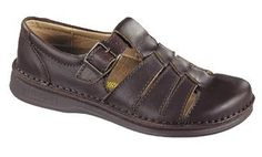 gotta have Footprints Women's Madeira Coffee Brown Leather Walking Shoes 38 Normal