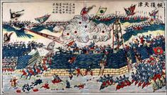The Boxers bombarded Tianjin in June 1900, and Dong Fuxiang's Muslim troops attacked the British Admiral Seymour and his expeditionary force.