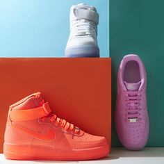 These limited-edition, summer-bright @Nike #AirForce1's is the #sneakerdrop that'll make all the boys jealous
