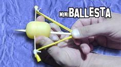 Como Hacer una Mini Ballesta Casera | Armas Caseras