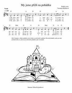 Kids Songs, Techno, Piano, Activities For Kids, Sheet Music, Model, Musicals, Christmas 2016, Carnavals