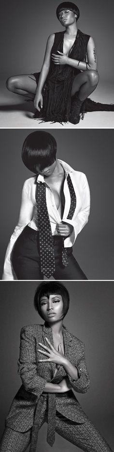 "Nicki Minaj For L'Uomo Vogue - @NICKIMINAJ - http://mypinkfriday.com/ - @luomovoguePR - http://www.vogue.it/en/uomo-vogue - Black Advertising & Magazine Covers - Funky Fashions - FUNK GUMBO RADIO: http://www.live365.com/stations/sirhobson and ""Like"" us at: https://www.facebook.com/FUNKGUMBORADIO"