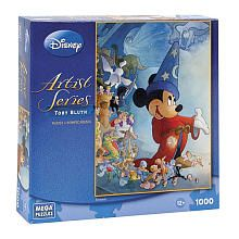 Disney 1000-Piece Puzzle - Fantasia