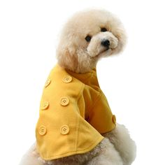 One Tail Four Paws Just The Peacoat Pet Coat, Large, Golden Yellow -- Want to know more, click on the image. #MyPet