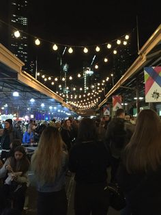 The Winter Night Market || Melbourne, Australia