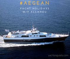 #motoryacht #charter ALLAHOU originally constructed for the Quandt family of BMW by Lurssen. sleeps 10. available from #athens. cruise the #aegean this #summer in #luxury http://www.yachtchartergreekislands.com/allahou-motor-yacht.html