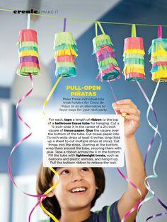Pull-open piñatas...