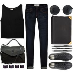 "#sunglasses #roundsunglasses #wholesalecelebshades ""I'm a Dark Girl.."" by emc1397 on Polyvore"