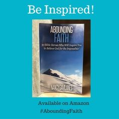 My second book is now available on Amazon! All Glory to God! My prayer is that Abounding Faith: 30 Bible Heroes Who Will Inspire You to Believe God for the Impossible will be a blessing to all who read it! This devotional is great to read on your own or with your small group. Read more on my blog: www.MiraculousLovely.com and order your copy today at: http://www.amazon.com/Abounding-Faith-Inspire-Believe-Impossible-ebook/dp/B01D3I7XBE/ref=sr_1_1?s=books&ie=UTF8&qid=1458519637&sr=1-1…