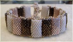 Free Jewelry Making Projects -- love this bracelet. Lots of other beading tutorials on the site.