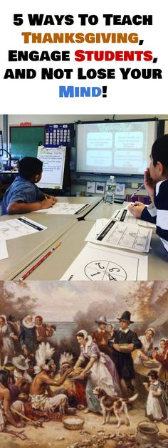 5 Engaging Upper Elementary and Middle School Activities for Thanksgiving