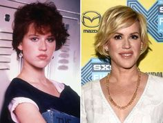 Celebrities from the then and nowMolly Ringwald from the then and nowKelly McGillis from the then and nowRalph Macchio celebrities then and now Molly Ringwald Anthony Michael Hall, Michael Keaton, Celebrities Before And After, Celebrities Then And Now, Kelly Mcgillis, Emilio Estevez, Jennifer Grey, Molly Ringwald, Ralph Macchio