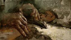 Sergei Mininin Kalevala-aiheinen maalaus
