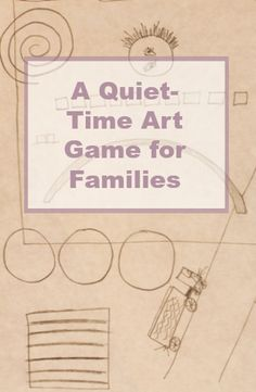 A simple and low-key art game to play with kids and families. Good for quiet time and especially beneficial for improving drawing self confidence.
