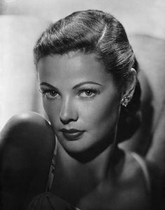 Gene Tierney  One of the most beautiful actresses to grace the silver screen.