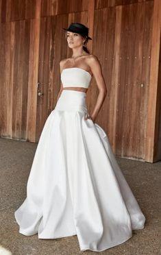 Elegant Wedding Gowns, White Wedding Dresses, Bridal Dresses, Wedding Skirt, Bridal Looks, Bridal Style, Steph Claire Smith, Wedding Dresses Australia, Australian Wedding Dresses