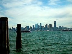 Downtown Seattle from Salty's Restaurant in Alki