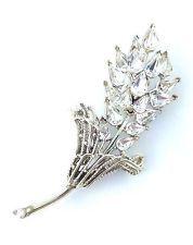 Vintage Silver Tone Signed CORO Marquis Rhinestone Flower Bouquet Pin Brooch  http://www.ebay.com/itm/Vintage-Silver-Tone-Signed-CORO-Marquis-Rhinestone-Flower-Bouquet-Pin-Brooch-/141681938006?pt=LH_DefaultDomain_0&hash=item20fce6ce56