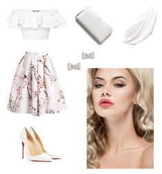 """Mimimi"" by anesaa ❤ liked on Polyvore featuring Alexander McQueen, Christian Louboutin, Kate Spade and Marc by Marc Jacobs"