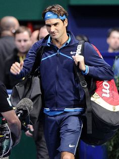 Roger Federer- literally the greatest man on this planet