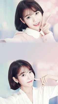 It's beautiful Iu Moon Lovers, Pop Photos, Best Kpop, K Pop Star, Kdrama Actors, Iu Fashion, Short Hair Cuts For Women, Illustration Girl, Korean Celebrities