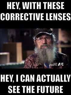 Si can see the future.