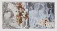 Irina Schuvaloff, A new spring 2015, mixed media on MDF-board, 21 x 38