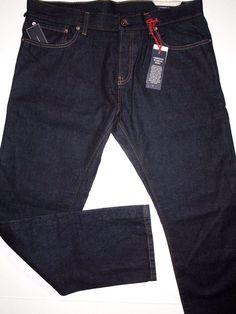Tommy Hilfiger rebel slim selvedge rinse men's jeans size 34x30 NWT  #TommyHilfiger #Slimstraightleg
