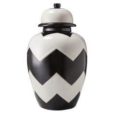 Nate Berkus for Target chevron urn jar $30