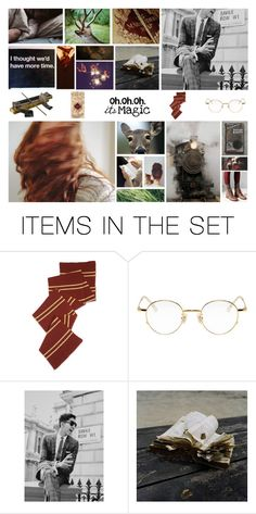 """James Potter and Lily Evans"" by hannahefay ❤ liked on Polyvore featuring art"