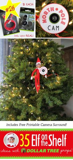 35 BRAND NEW Creative Funny Elf On The Shelf Ideas With Dollar Tree Props 21