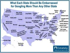 Your State Should Be Ashamed By These Popular Google Searches