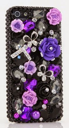 Luxury Swarovski Crystal Cases and Covers for the iPhone 5 | Beautiful iPhone Covers and Cases for Girls