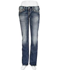 Silver McKenzie Boot Stretch Jean- like em