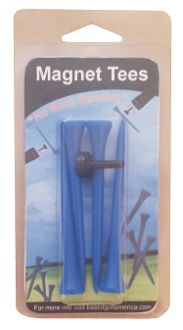 Magnet Tees so you no longer have to bend to pick the tee up from the group