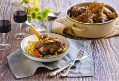 Bah-eautiful lamb shanks cooked in beer and honey may be your new favourite dish.