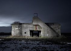 Abandoned WW2 Bunkers by Jonathan Andrew 7 • TheCoolist - The Modern Design Lifestyle Magazine