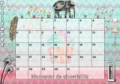 Calendario mensual #2015 - #Diciembre