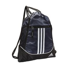 436e0f0b017 Adidas Alliance Ii Sackpack ( 14) ❤ liked on Polyvore featuring bags,  backpacks,