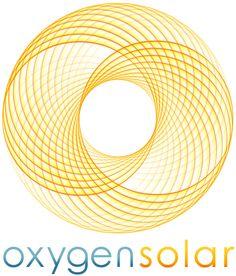 Oxygen Solar Logo Design And Process Presentation on Behance Solar Energy, Solar Power, Solar Logo, Elegant Business Cards, Logo Inspiration, Two By Two, Presentation, Logo Design, Company Logo