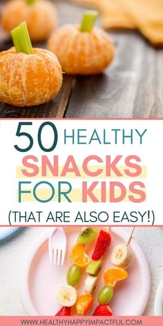 Easy, healthy, and on the go snacks for kids! Make or buy these delicious treats that are perfect for picky eaters. Use these healthy snack ideas for your toddler or your teenager. #healthykidsnackideas #snacksfortoddlers #snacksforkids