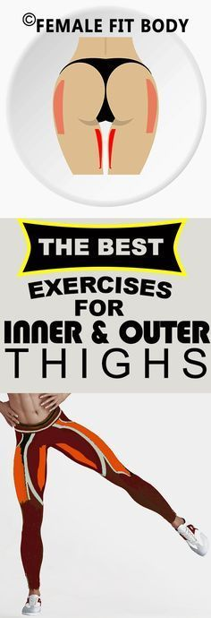 The Best Exercises for Inner and Outer Thighs Pin It