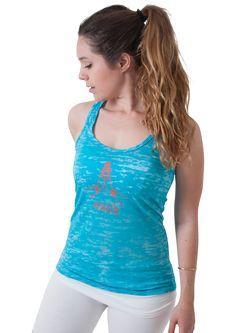 Yoga Gives Back Burnout Tank