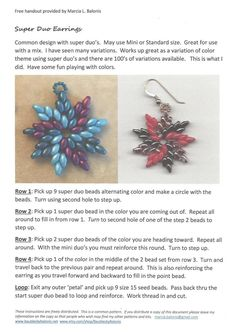 Baubles by Balonis - Super Duo Earrings