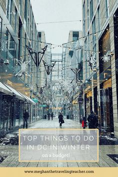 Winter in DC - Fun Things to Do on a Budget – The Traveling Teacher