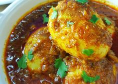 Great recipe for Egg Curry Veg Recipes, Curry Recipes, Indian Food Recipes, Great Recipes, Vegetarian Recipes, Chicken Recipes, Ethnic Recipes, Kurma Recipe, Egg Masala