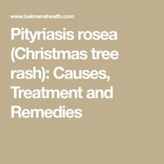 Christmas Tree Rash Image Dermatitis In 2019 Common Skin Rashes