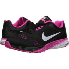 Nike Tri Fusion Run (Black/Pink Foil/White) Women's Running Shoes (