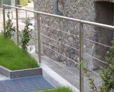 Garde Corps Du0027extérieur / En Inox / En Câble / Pour Escalier VENERE