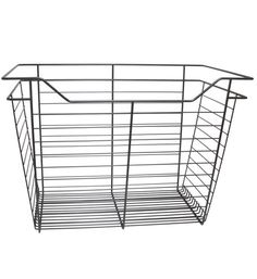 Wire Basket Drawer - 23 x 17 x 14-Inch adds instant pullout storage to your closet. It's great for holding linens and clothe